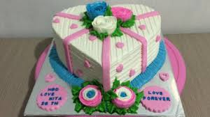 white love cake decorating easy youtube