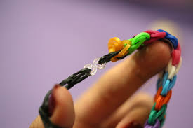 hand make bracelet images How to make a ladder bracelet on the rainbow loom with pictures jpg