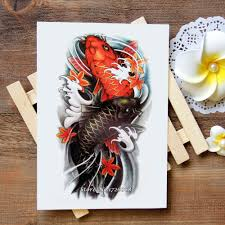 carp fish tattoo online buy wholesale tattoo fish from china tattoo fish