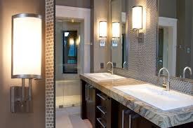 Bathroom Lighting Vanity Bathroom Ideas Led Bathroom Lighting Vanity With Frameless Mirror