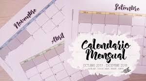 Calendario Diciembre 2018 Organizador Mensual Calendario Esp Cat Ing Fr Ale 2017 2018