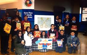 catholic thanksgiving prayer today st peter catholic academy students organize thanksgiving