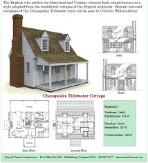cottage plans 611 sq ft chesapeake tidewater cottage versaci s