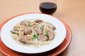 chinese pan fried pork with bok choy and noodles pork recipes