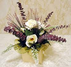Silk Floral Arrangements Make A Classy Silk Flower Centerpiece In Five Easy Steps
