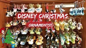 disneyland christmas ornaments 2016 youtube