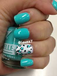 day 13 animal print nails 31daynailartchallenge amo el color del
