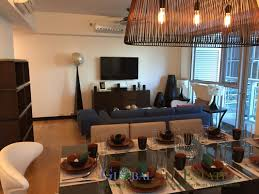 west tower serendra 2 bedroom apartment for rent dining and living area west tower serendra 2 bedroom fully furnished apartment for rent