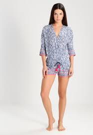 robe de chambre etam etam nagua pyjama blue femme vêtements pyjamas nuisettes