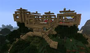 minecraft jungle tree house designs house design