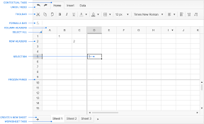 Spreadsheet Widget User Guide Kendo Ui Spreadsheet Widget