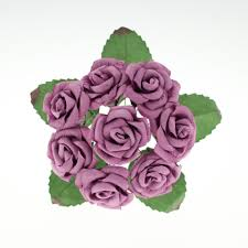 purple roses for sale mulberry paper flowers wholesale for scrapbooking