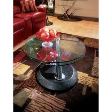 Red Round Coffee Table - magnussen modesto metal round cocktail table magnussen 38006