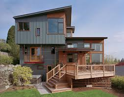 4 level split house zipper house deforest architects