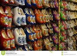a shop for buying famous traditional dutch wooden shoes clogs