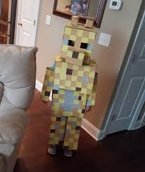 Minecraft Villager Halloween Costume 253 Halloween Boys Images Minecraft