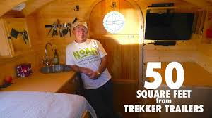 50 sq ft park ranger s tiny house is only 50 square feet youtube