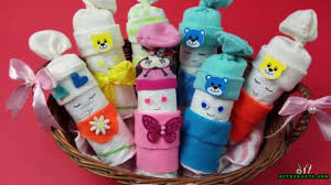 how to make an adorable u201cdiaper baby u201d basket baby shower gift