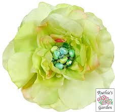 Lime Green Flowers - ruthie u0027s garden 4 4 inches large flower pins with a vintage