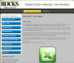 excel pivot table tutorial 2010 excel 2010 pivot tables video training