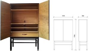 Tv Cabinet Doors Once A Console Stereo Now A Tv Standmedia Cabinet Doors On The Tv