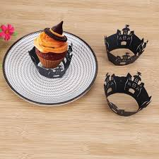 online shop 12pcs halloween decorations halloween cupcake wrappers