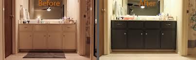 My Painted Bathroom Vanity Before - wondrous ideas how to paint bathroom cabinets astonishing