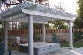 Lattice Patio Covers Do Yourself Stand Alone Patio Cover Kits Home Outdoor Decoration