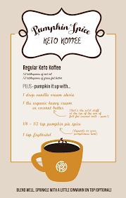 Coffee Hacks by Pumpkin Spice Keto Coffee Recipe Meta Ketosis