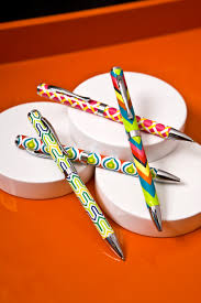 Chevron Desk Accessories by Post No 551 Jonathan Adler Stationery