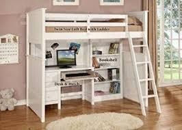 Bunk Bed With A Desk Bunk Desk Bed Foter
