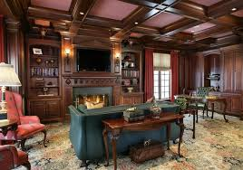 large home office large elegant study traditional home office new york by