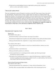 Sample Job Objectives For Resumes by Louisiana State University Health Sciences Center Department