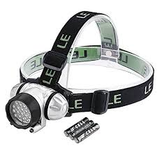 le headl led 4 modes headlight battery powered helmet light