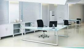 Modern Glass Office Desks Desk Top Glass Modern Glass Top Executive Desk On Sale Now For