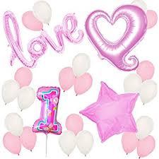 amazon com 1st birthday fun to be one party balloon kit