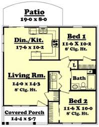 Small 2 Bedroom House Plans Exceptional One Bedroom Home Plans 10 1 Bedroom House Plans