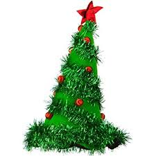 christmas tree hat light up christmas tree hat green pkg 1 clothing