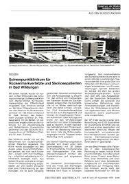 Wicker Klinik Bad Wildungen Hessen Schwerpunktklinikum Für Rückenmarkverletzte Und