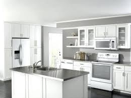 White Appliance Kitchen Ideas Modern White Kitchen With Black Appliances Design Ideas And Decor