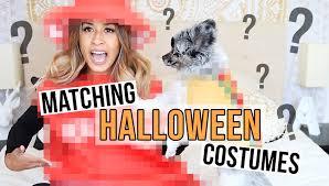 matching halloween costumes cute dog pet costume ideas ariel