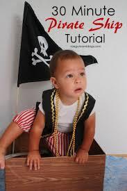 30 minute diy pirate ship tutorial rae gun ramblings