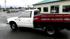 old nissan truck models 1983 nissan 1 ton flathbed dually pickup youtube
