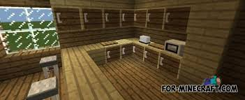 minecraft kitchen furniture furniture mod v6 for minecraft pe 0 11 0 13
