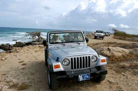 light brown jeep half day jeep safari el tours aruba island tours airport