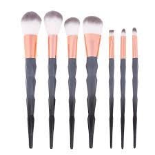 popular black brush set makeup buy cheap black brush set makeup