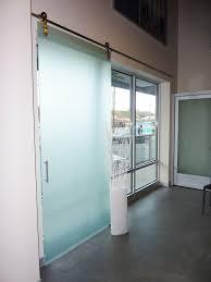 Interior Sliding Glass Barn Doors by Barn Door Sliding Barn Doors With Glass Inside Superior