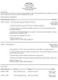 Military Resume For Civilian Job by Veteran Resume 8 6 Sample Military To Civilian Resumes Uxhandy Com