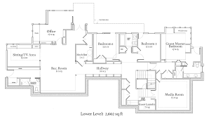 one story 4 bedroom house plans modern house plans 4 bedroom one story plan set decor our two