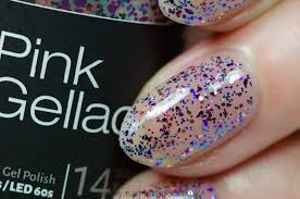 pink gellac the cruise collection review and swatches by nail